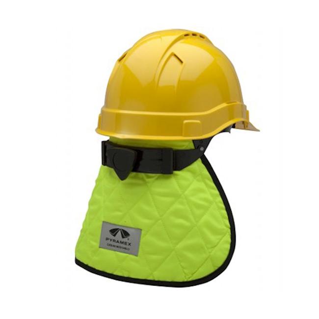 Protection du cou pour casques jaune