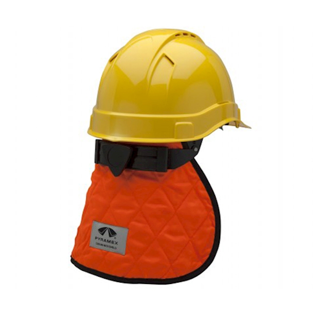 Protection du cou pour casques orange