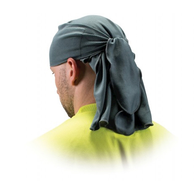 Schutz-Kopftuch, grau